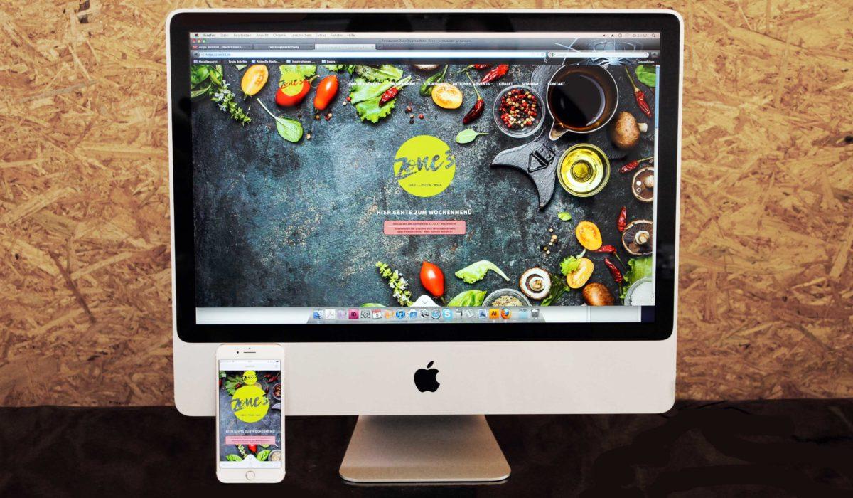 Zone 3 Webseite