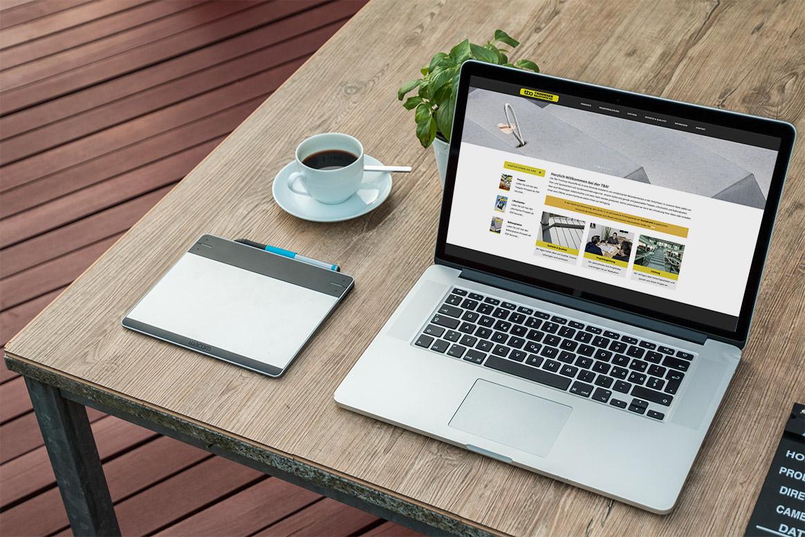 Webseite Trimmiser Baustoffe
