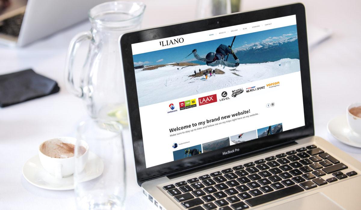 Webseite Iliano