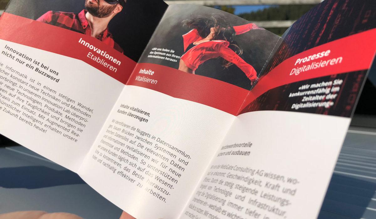 Webgate Broschüre