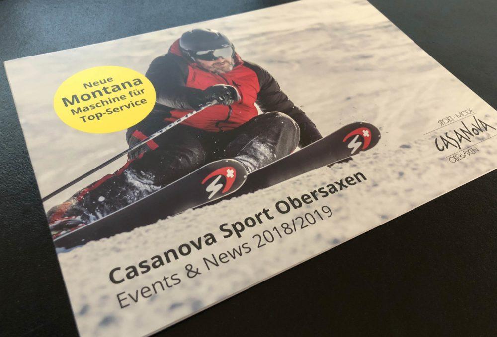 Casanova Sport Obersaxen Flyer