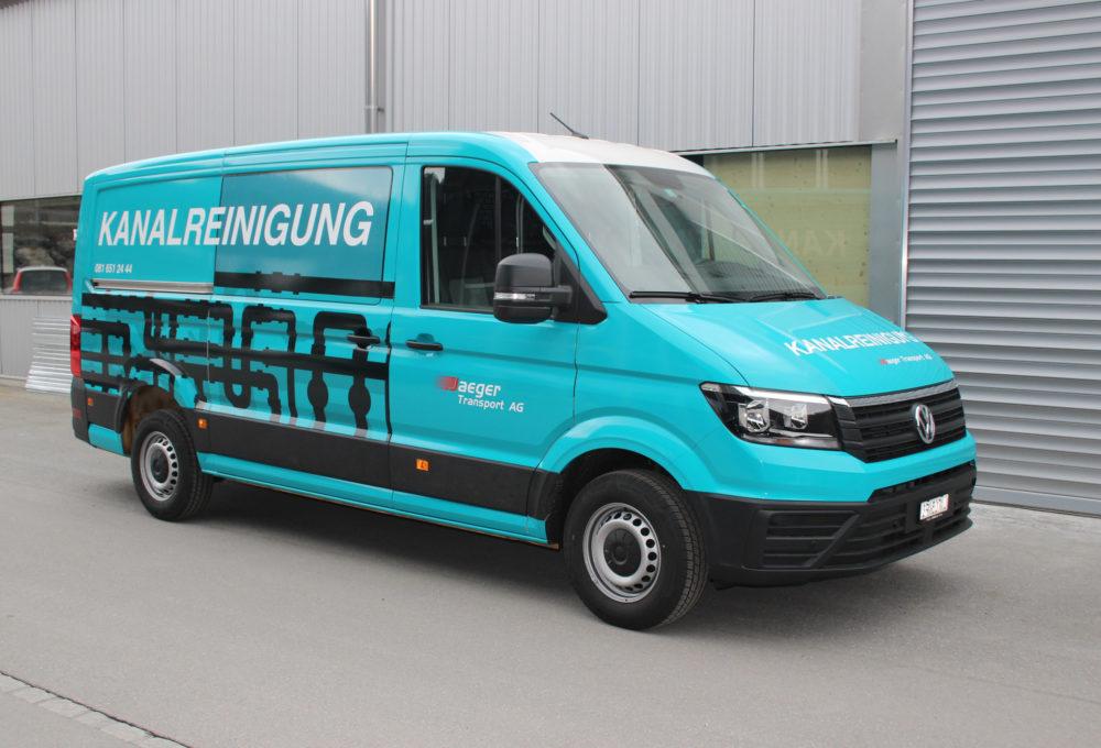 Fahrzeugfolierung Jäger Transport AG